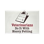 Funny Veterinary Veterinarian Rectangle Magnet (10