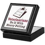 Funny Veterinary Veterinarian Keepsake Box