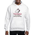 Funny Veterinary Veterinarian Hooded Sweatshirt