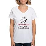 Funny Veterinary Veterinarian Women's V-Neck T-Shi