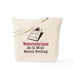 Funny Veterinary Veterinarian Tote Bag