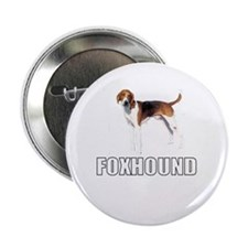 "Foxhound 2.25"" Button"