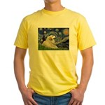 Starry / Gr Pyrenees Yellow T-Shirt