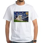Starry / Gr Pyrenees White T-Shirt