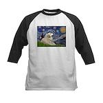 Starry / Gr Pyrenees Kids Baseball Jersey