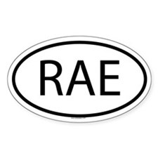 RAE Oval Stickers