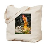 Fairies / Gr Pyrenees Tote Bag