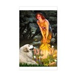 Fairies / Gr Pyrenees Sticker (Rectangle)