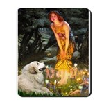 Fairies / Gr Pyrenees Mousepad