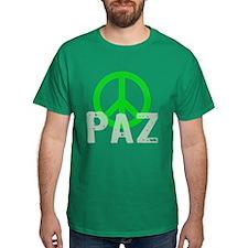 PAZ Peace en Espanol T-Shirt