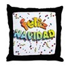 FELIZ NAVIDAD Throw Pillow