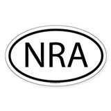 NRA Oval Bumper Stickers