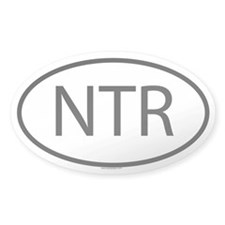 NTR Oval Decal