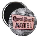 "100 pack - 2.25"" Coral Court Magnet"