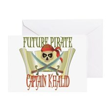 Captain Khalid Greeting Card