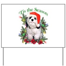 Shih Tzu 'Tis Yard Sign