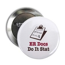 "Funny Doctor ER Doc 2.25"" Button (100 pack)"