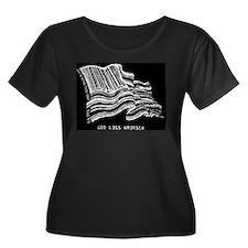 Barcode Flag - God Less Ameri T
