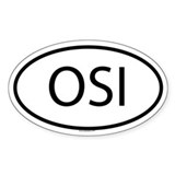 OSI Oval Decal