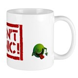 Hitchhiker - Don't Panic! Coffee Mug