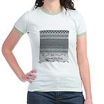 Chic Fashion - Keffiyeh Jr. Ringer T-Shirt