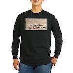 Ron Paul Preamble-C Long Sleeve Dark T-Shirt