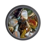 Semi Precious Stones Wall Clock