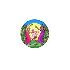 Dance With Joy Mini Button