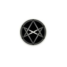 Unicursal Hexagram Mini Button (10 pack)