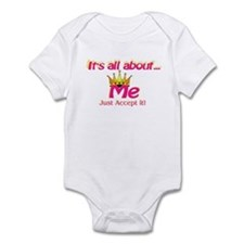 RK It's All About Me Accept I Infant Bodysuit