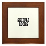 Skiffle Rocks Framed Tile