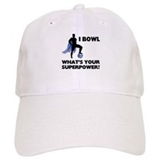 Bowling Superhero Cap