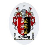 O'Grady Coat of Arms Keepsake (Oval)