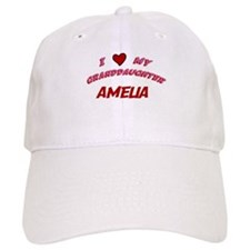 I Love My Granddaughter Ameli Baseball Cap