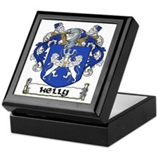 Kelly Coat of Arms Keepsake Box