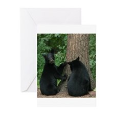black bears Greeting Cards (Pk of 20)