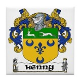 Kenny Coat of Arms Ceramic Tile