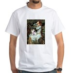Ophelia / Fox T White T-Shirt