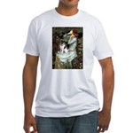 Ophelia / Fox T Fitted T-Shirt