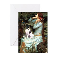 Ophelia / Fox T Greeting Cards (Pk of 20)