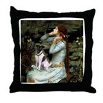 Ophelia / Fox T Throw Pillow