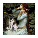 Ophelia / Fox T Tile Coaster