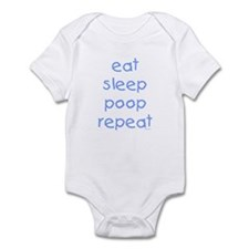 "Boys' ""Eat Sleep Poop Repeat"" Onesie"
