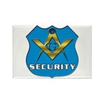 Masonic Security Guard Rectangle Magnet (10 pack)