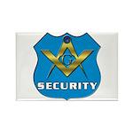 Masonic Security Guard Rectangle Magnet