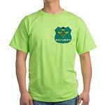 Masonic Security Guard Green T-Shirt