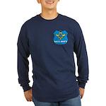 Masonic Security Guard Long Sleeve Dark T-Shirt