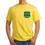 Masonic Security Guard Yellow T-Shirt
