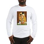 Kiss / Fox Terrier Long Sleeve T-Shirt