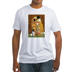 Kiss / Fox Terrier Fitted T-Shirt